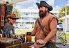 Leather Works at the Cedar Key Pirate Fest - Photo by Pat Bonish
