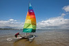 Jay & Bobby Sailing in Cedar Key - Photo by Pat Bonish