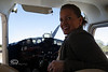 Cindy at the Controls - Cedar Key Florida - Photo by Pat Bonish