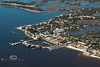 Downtown Cedar Key from Above - Photo by Pat Bonish