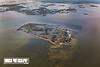 Atsena Otie Key looking North towards the town of Cedar Key - June 2017 - Photo by Pat Bonish