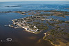 Looking West Over Cedar Key - Photo by Pat Bonish