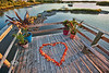 Perfect Spot for a Wedding - The Dock behind the Low-Key Hideaway - Photo by Pat Bonish