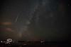 Shooting Stars Along the Milky Way - Cedar Key Florida - Photo by Pat Bonish