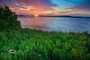 Rarely seen Sunrise shot from me - Low-Key Hideaway, Cedar Key Florida - Photo by Pat Bonish