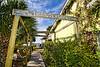 The Walkway leading back to the Hideaway Tiki Bar - Low-Key Hideaway, Cedar Key Florida