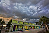Spooky Storm over the Low-Key Hideaway - Cedar Key Florida - Photo by Pat Bonish - Bonish Photo