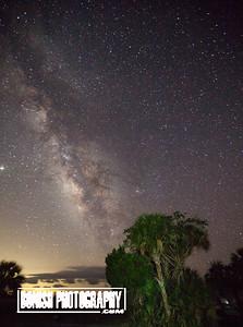 Milky Way in it's full glory over Cedar Key - Photo by Pat Bonish