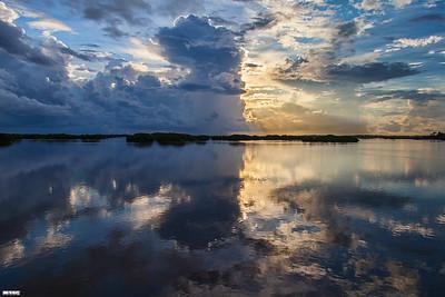 A Calming Sunset - Cedar Key FL