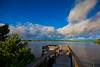 Sunrise off the RV Dock at Sunset Isle Campground - Cedar Key Florida - Photo by Pat Bonish