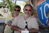 Pat & Barry waiting to win some prizes at the Hideaway Tiki Bar Full Moon Party