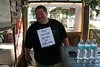 Freddy Making Sure No One Breaks the Law - Hideaway Tiki Bar Full Moon Party, Cedar Key Florida