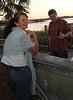 Tanya and Walter enjoying the Sunset at the Hideaway Tiki Bar