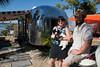 Dan has lived out of his 1954 Airstream Fulltime for over 1 year now - Tin Can Tourists Visit Cedar Key Florida