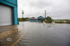 Deep water filled the streets in Cedar Key Florida during Tropical Storm Andrea - Photo by Pat Bonish