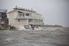 Cedar Cove Yacht Club taking a beating during Tropical Storm Andrea - Photo by Pat Bonish