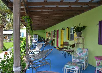 back porch Low Key Hideaway