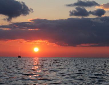 sunrise, Cedar Key