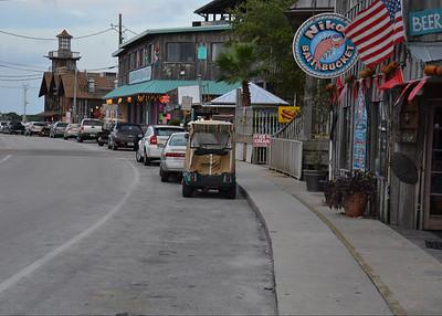 down town Cedar Key