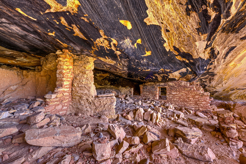 """Ruin in Black Roof Cave"""