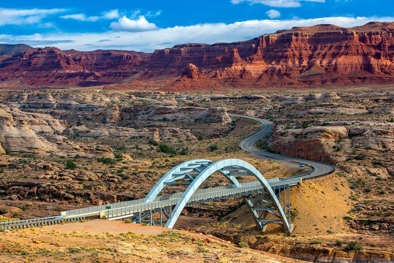 """""""Highway 95 Crossing Colorado River"""""""