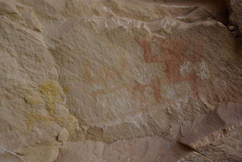 Painted Figures, Ballroom Cave Ruin