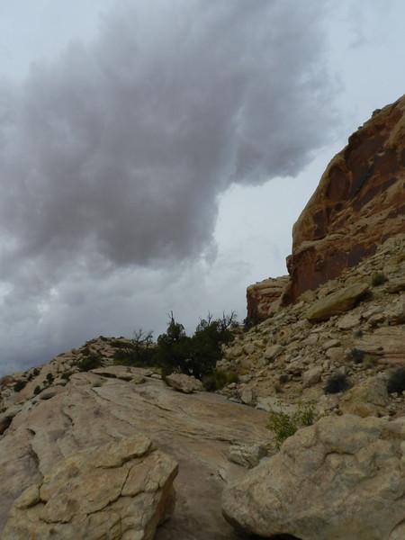 Thunderstorm, Comb Ridge