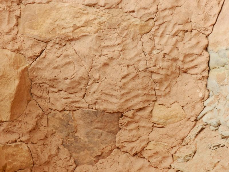 Finger Prints in Mortar, near Sheiks Canyon