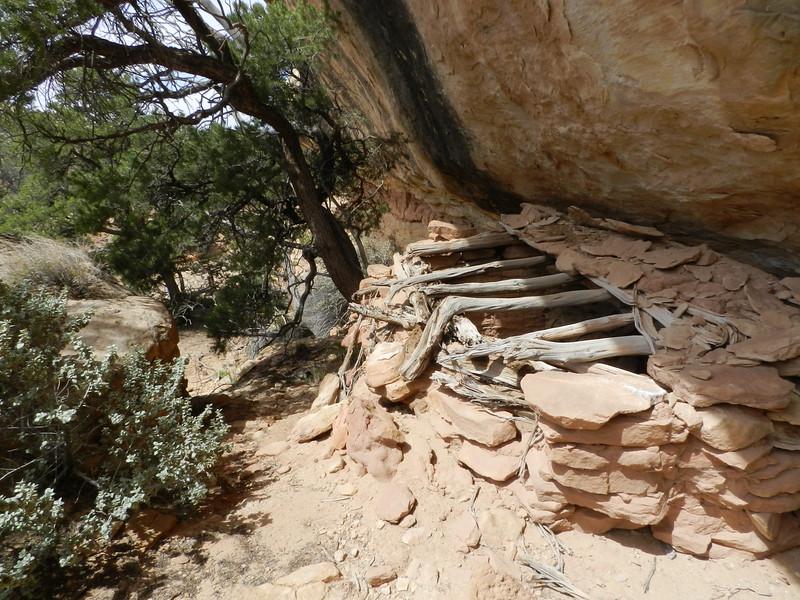 Roofed Ruin, near Sheiks Canyon