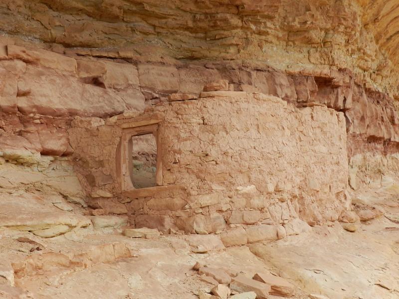 Ruin near Sheiks Canyon, Cedar Mesa