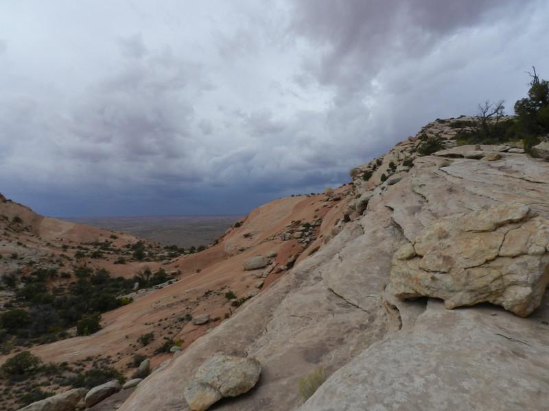 Approaching Storm, Comb Ridge