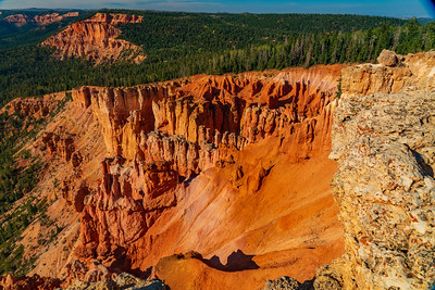 The Strawberry Cliffs on the South Side of Cedar Mountain