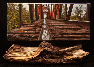 "Columbus Train Trestle ""SOLD'"