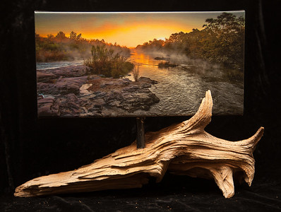 Llano River Morning-SOLD