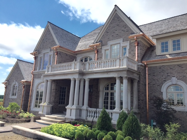 Cedar Roofing and Copper Gutters - Sycamore IL