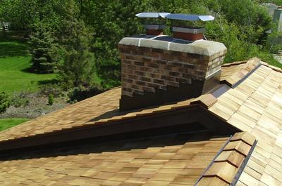 Cedar Shake Roof - Taper Sawn - Green Oaks IL