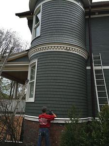 Cedar Shake Siding Project - Evanston IL