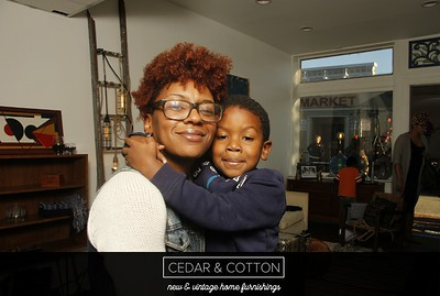 Cedar and Cotton Pop-up 10.09.16