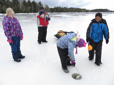 Ice Fishing - January 12th, 2014