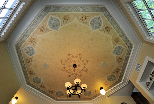 Ceiling 1 BoppArt Decorative Painting