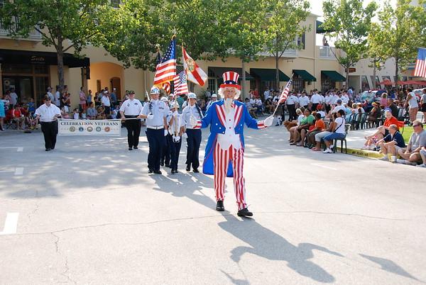 Selected Celebration Veterans Club History