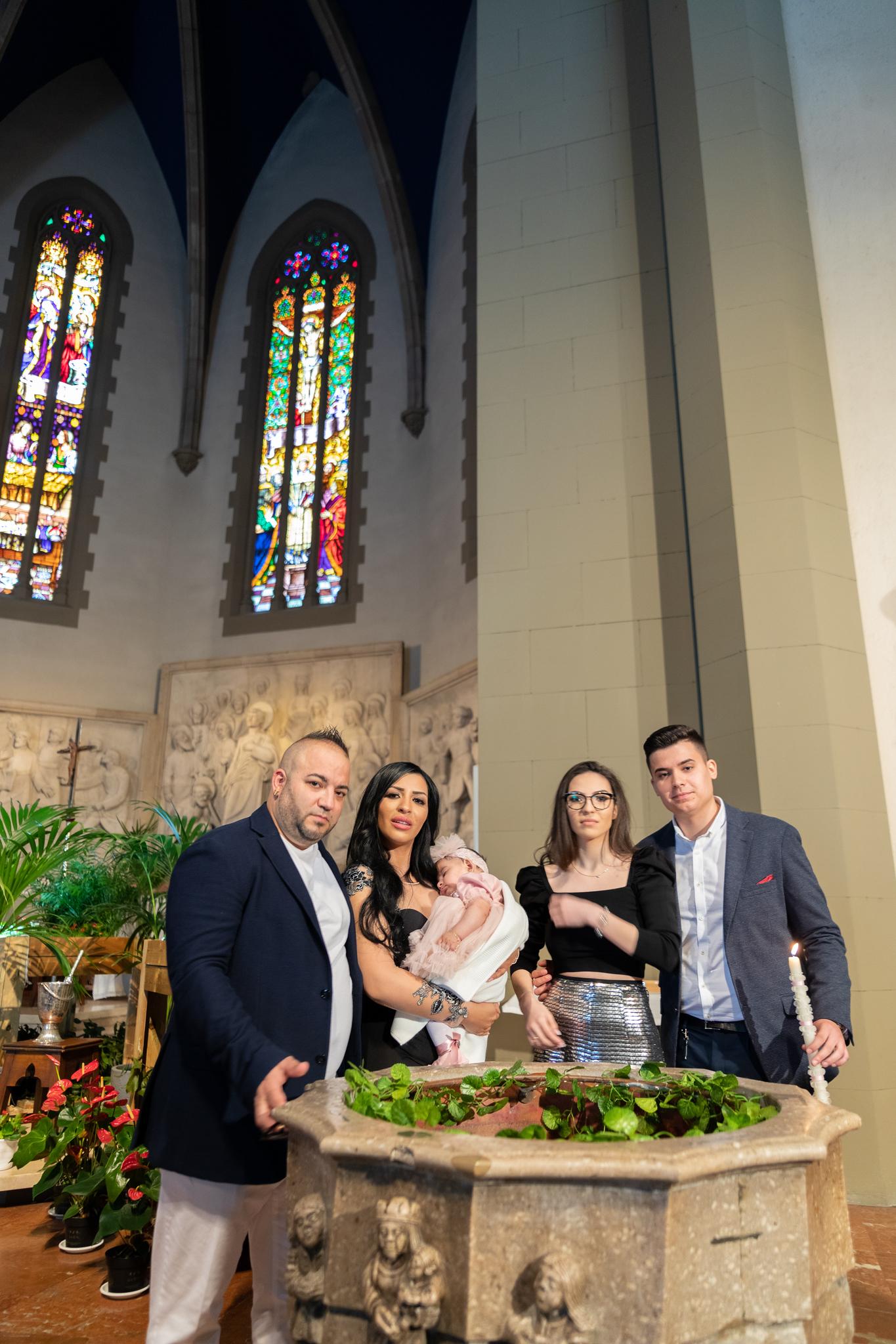 Reportaje de bautizo de Sofia en Granollers