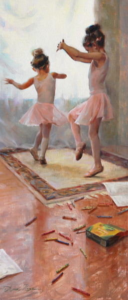"""Innocence"" (oil on linen) by Anna Rose Bain"