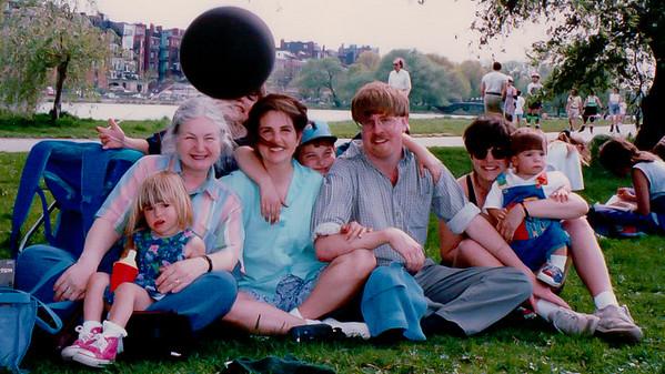 1995 Boston w/family