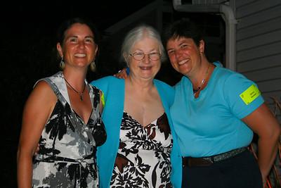 2008 @ Beckman Party w/Joanne & Ginny