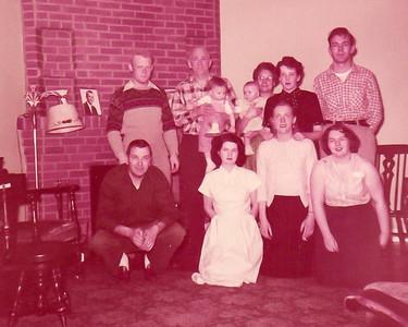 1955 Fay & Reita Newton's Family
