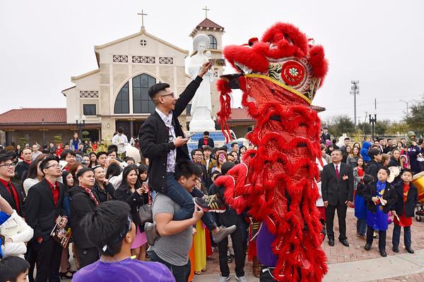 Celebrating Lunar New Year at Vietnamese Martyrs Church