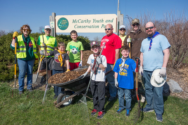 McCarthy Youth Conservation Park Volunteer Activities