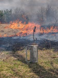 Schumacher Farm Park Prairie Burn