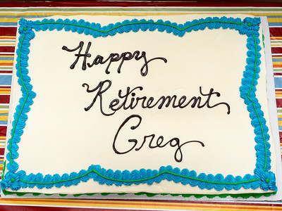 Happy Retirement Greg!